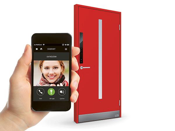 SmartDörr-med-mobil-NorDan