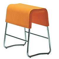 Plint bench orange