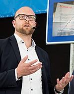 JOHAN PALMBERG, fabrikschef på Smålandsvillan.