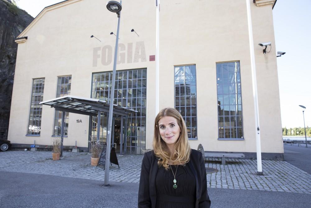"Caroline Szybers ""praktik"" på Fogia."