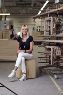 Pia Hansson, HR-chef som sett till att göra företaget bra på att rekrytera.
