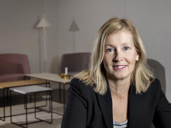 Ulrika Ståhl, vd, Lammhult. Fotograf Lars Dareberg