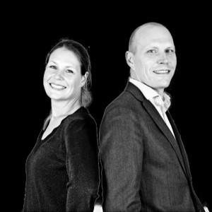 Frida Scherdén och Oskar Lindholm, vd:ar inom Eksjöhus
