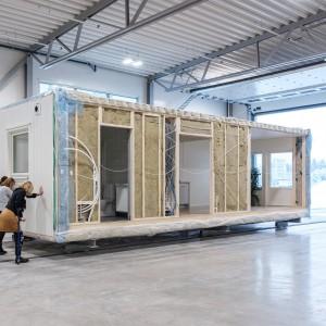I december 2017 invigdes Eksjöhus Modulbygg AB:s nya fabrik.
