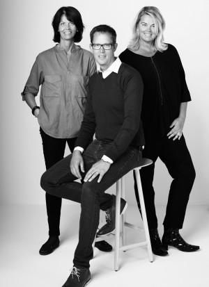 Fjärde generationen som förädlar Karl Anderssons arv. Maria, Sara och Karl Wadeskog