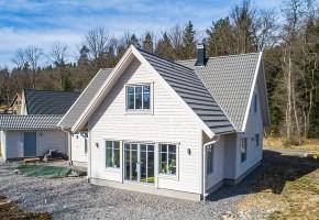 Villa Vårholma, vinnare i tävlingen Årets småhus 2019.
