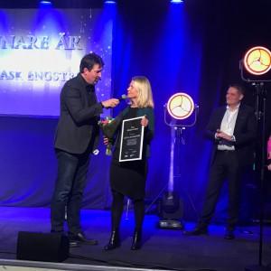 Cecilia Ask Engström tog priset