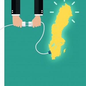 Sveriges totala elproduktion 2017 Vattenkraft 64 TWh Kärnkraft 63 TWh Vindkraft 17 TWh Kraftvärme 9 TWh Kraftvärme i industrin 6 TWh Källa: Ekonomifakta
