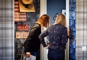 På Husknuten i Frölunda finns ett 20-tal visningshus från svenska småhusföretag – ett populärt besöksmål för folk i byggtagen.
