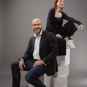 Henrik Smedmark, TMF:s kompetensförsörjningsexpert, och Mikaela Pietrzak, projektledare för TMF:s ungdomskommunikation.