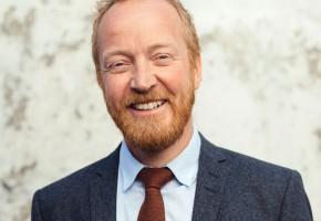 Christian Lodgaard, chef för design, hållbarhet och varumärken hos Flokk