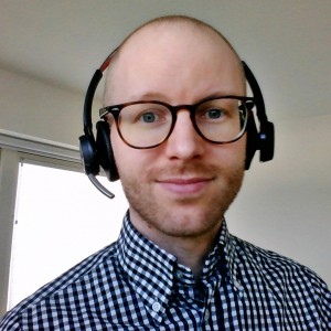 David Johansson, VR-specialist på OBOS Sverige
