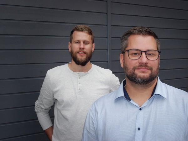 LEDANDE BRÖDER Johan Ahlin (t.v.) och David Ahlin är vd respektive chef för marknad och produkter. Med de nya metoderna är de mindre inblandade i det dagliga arbetet.