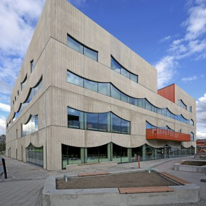 Selma Lagerlöfs center. Foto: White Arkitekter