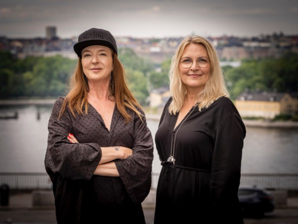 Sanna Gebeyehu och Chicie Lindgren