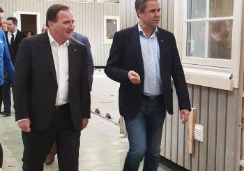 Statsministerbesök hos Älvsbyhus