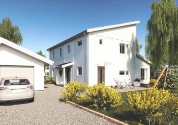 Tre av fyra svenskar vill hellre bo i eget hus än i lägenhet