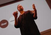"""""""Sätt användaren i centrum"""" – Oscar Axhede utmanade åhörarna på Möbeldagen"""