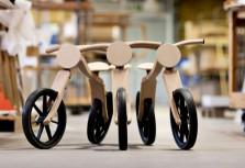 Lamino blir en cykel