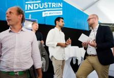 """Industrin lockade med framtidsföretag och """"digital minister"""""""