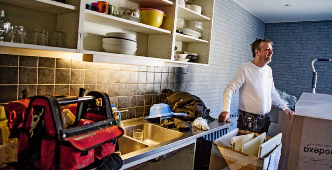 Nya tag i köket