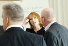 Annie Lööf berömmer TMF:s kampanj