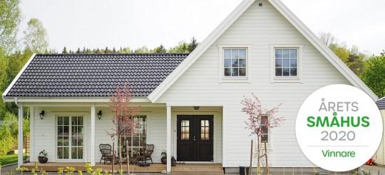 Eksjöhus har byggt Årets Småhus
