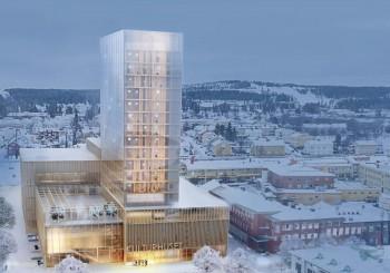 Skellefteå utsedd till Årets Trästad 2020